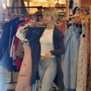 Julianne Hough – Shopping in Studio City