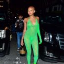 Slick Woods – Arriving to Rihanna's Fenty Afterparty in NY