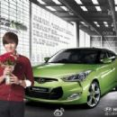 Pictures of Lee Min Ho for Hyundai Veloster - 454 x 340