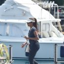 Holly Robinson Peete on a vacation with Rodney Peete in Portofino - 454 x 656