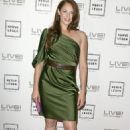 Amanda Righetti Herve Leger By Max Azaria Spring Collection Preview Party - 454 x 681