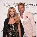 Geraldine Bazan and Gabriel Soto- People en Espanol's 50 Most Beautiful Gala 2017 - Arrivals - 418 x 600