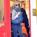 Claudia Schiffer Out & About In London, October 12 2009