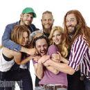 "San Diego Comic Con 2013 ""Vikings Cast"" - Travis Fimmel, Katheryn Winnick, Clive Standen, Jessalyn Gilsig, Gustaf Skarsgard, George Blagden"