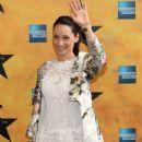 Lucy Liu Hamilton Broadway Opening Night In New York City