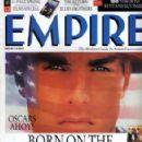 Tom Cruise - Empire Magazine [United Kingdom] (March 1990)