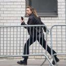 Chloe Moretzand Brooklyn BeckhamOut in NYC - 454 x 353