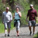 Lea Michele – Goes for a hike in LA - 454 x 303