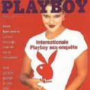 Drew Barrymore - Playboy Magazine Cover [Netherlands] (February 1995)
