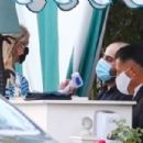 Nicky Hilton – gets her temperature checked in Los Angeles - 454 x 303