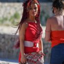 Chelsee Healey – Filming Hollyoaks the soap in Majorca