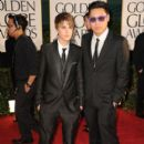 Justin Bieber at the 68th Annual Golden Globe Awards at The Beverly Hilton hotel January 16, 2011 Beverly Hills