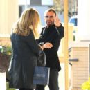 Ringo and Wife Barbara waiting for car in Beverly Hills