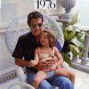 Marcello Mastroianni with HIS little daughter Chiara - 1976 - 454 x 501