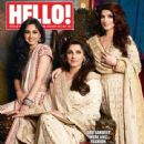 Rinke Khanna, Dimple Kapadia, Twinkle Khanna - Hello! Magazine Pictorial [India] (2 January 2012) - 440 x 550