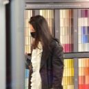 Katie Holmes – Shopping candids at a paint store in New York
