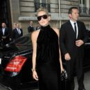 Sharon Stone: Christian Dior's runway show during the Paris Fashion week Autumn-Winter in Paris