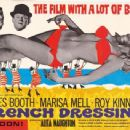 Page spread for 'French Dressing' in ABC Film Review July 1964