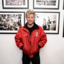 Jon Bon Jovi attends the David Bergman Exhibition Opening Curated By Jon Bon Jovi at The Soho Holiday Collective on December 16, 2014 in New York City
