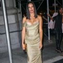 Adriana Lima – Arrives at Harper's Bazaar ICONS Party in New York - 454 x 681