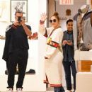 Jennifer Lopez and Alex Rodriguez Shopping in LA