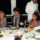 Mick Jagger and L'Wren Scott attend Finch's Quarterly Cannes Dinner 2010 at the Hotel du Cap as part of the 63rd Cannes Film Festival on May 17, 2010 in Antibes, France - 454 x 302