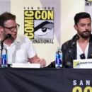 Actor Dominic Cooper attends AMC's 'Preacher' panel during Comic-Con International 2016 at San Diego Convention Center on July 22, 2016 in San Diego, California - 454 x 281