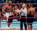 Mills Lane With Evander Holyfield & Mike Tyson