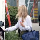 Gwyneth Paltrow – Leaves a business meeting in LA - 454 x 591