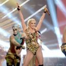 Ke$ha hits the stage at the 2012 American Music Awards
