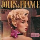 Marilyn Monroe - Jours de France Magazine [France] (24 March 1955)