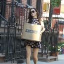 Famke Janssen – Return from the Post Office in New York City