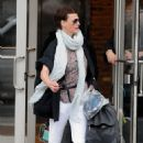 Linda Evangelista Out in NYC