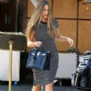 Sofia Vergara spotted leaving Il Pastaio in Beverly Hills May 25, 2016