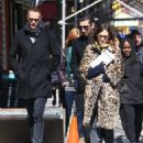Alexa Chung & Alexander Skarsgard Out And About In NYC ( March 23, 2017) - 454 x 575