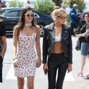 Stella Maxwell and Sara Sampaio out in Cannes