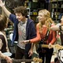 (Left to right) LISA KUDROW (background), CHARLIE SAXTON, GAELAN CONNELL, ALYSON MICHALKA and TIM JO star in BANDSLAM. Photo Credit: Van Redin. © 2008 Summit Entertainment, LLC., and Walden Media, LLC. All rights reserved. - 454 x 303