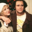 Jim Carrey and Courtney Love