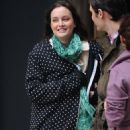 Re:Leighton Meester filming 'Gossip Girl' on the streets of NYC - February 18, 2011