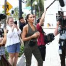 Olivia Culpo – Attends a casting call for Sports Illustrated in Miami