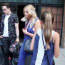 Ashley Benson Arrives at Huffpost Live in New York 07/23/2015