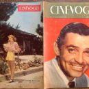 Clark Gable - Cinevogue Magazine Cover [France] (24 September 1946)