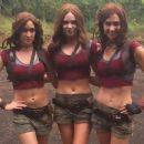 Karen Gillan as Ruby Roundhouse in Jumanji: Welcome to the Jungle - 454 x 255