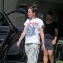 Lena Headey – Running errands in Los Angeles