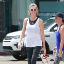 Charlize Theron – Heads at SoulCycle in West Hollywood