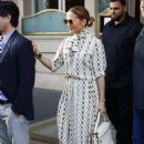 Jennifer Lopez visit The Louvre in Paris