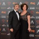 Ricardo Darin and Florencia Bas- Goya Cinema Awards 2016 - Red Carpet