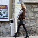 Kelly Rohrbach Out for shopping in St. Moritz - 454 x 476