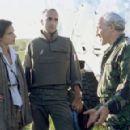 Katrin Cartlidge, Georges Siatidis and Simon Callow in MGM/UA's No Man's Land - 2001