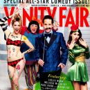 Melissa McCarthy, Leslie Mann, Paul Rudd, Megan Fox - Vanity Fair Magazine Cover [United States] (January 2013)